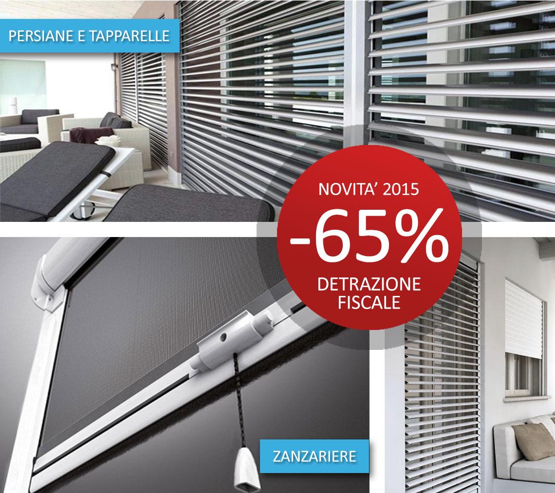 Detrazione fiscale al 65 novit 2015 tecno sicurezza - Detrazione 65 finestre ...